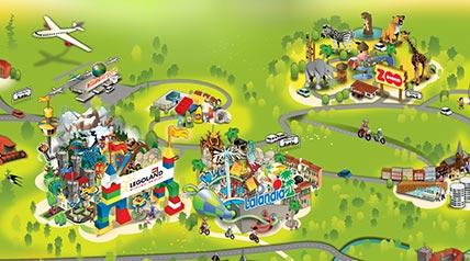 kart billund Kart Over Lalandia Billund | Kart